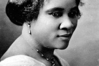 Black History Month : Madame C. J. Walker.