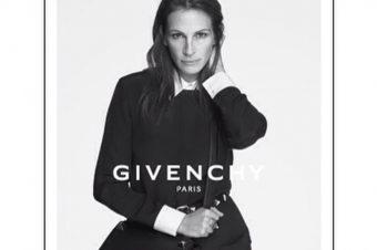 Julia Roberts, égérie de la maison Givenchy