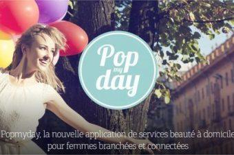 Popmyday, une nouvelle application de services beauté !