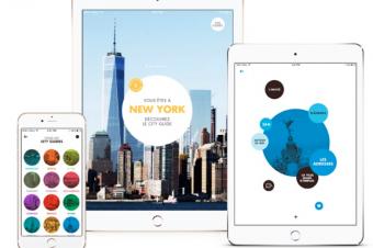 Le CITY GUIDE LOUIS VUITTON propose une application mobile !