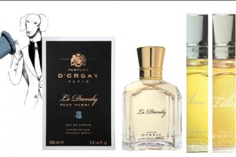 5 fragrances pour hommes signées Parfums d'Orsay !