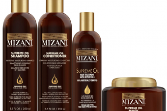 MIZANI lance une nouvelle gamme de soins capillaires : SUPREME OIL