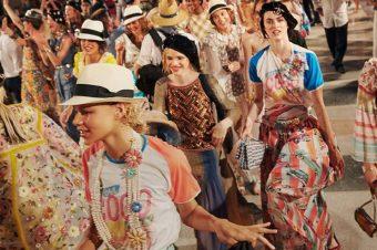 Chanel, met Cuba à l'honneur à l'occasion de son défilé Croisière 2017.
