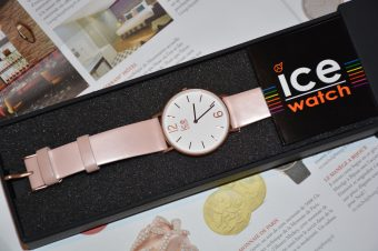 Ma CITY tanner Pink de Ice Watch (une surprise vous attend) !