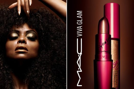 She's BACK ! Taraji P. Henson Teams Up With MAC again for VIVA GLAM collection.