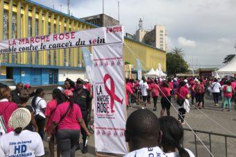 LA MARCHE ROSE pour lutter contre le CANCER DU SEIN | Douala