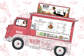 Un Healthy Truck Clarins by Michalak jusqu'au 20 avril 2018 !
