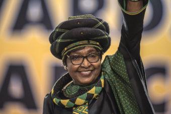 Hommage à Winnie Madikizela Mandela