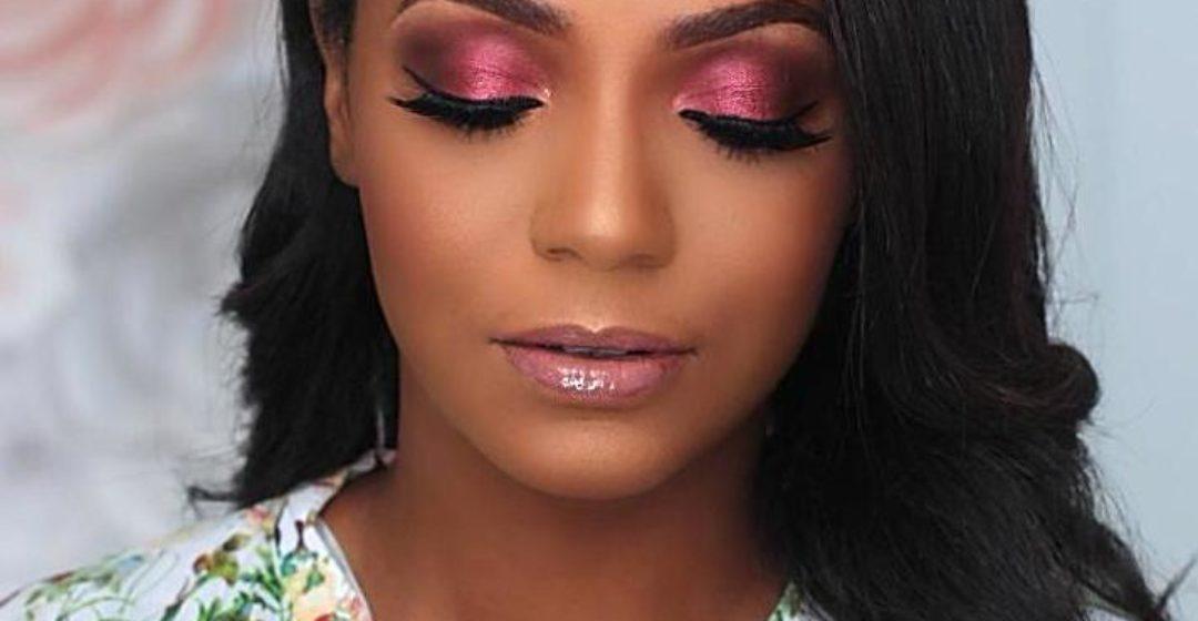 Mon Make up of the night au Beauty Bar Naija : DODOS