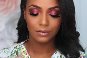 Mon Make up of the night au Beauty Bar Naija : DODOS