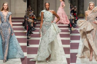 ZIAD NAKAD  ́Collection Couture Printemps – Été 2019
