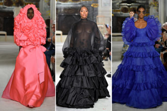VALENTINO COUTURE |Un grand moment de mode, MERCI !