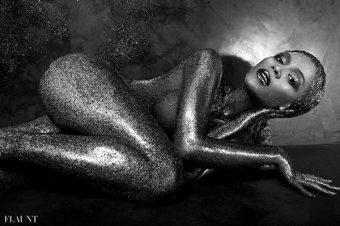 Beyoncé by Tony Duran pour Flaunt Magazine.