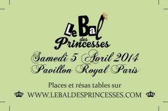 « Le Bal des Princesses » est de retour !