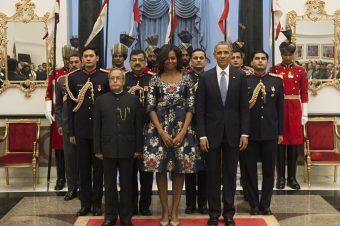 Michelle Obama choisit Carolina Herrera New York !