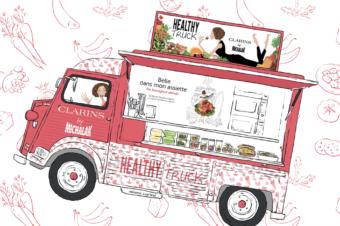 Un Healthy Truck Clarins by Michalak jusqu'au 20 avril 2018 !